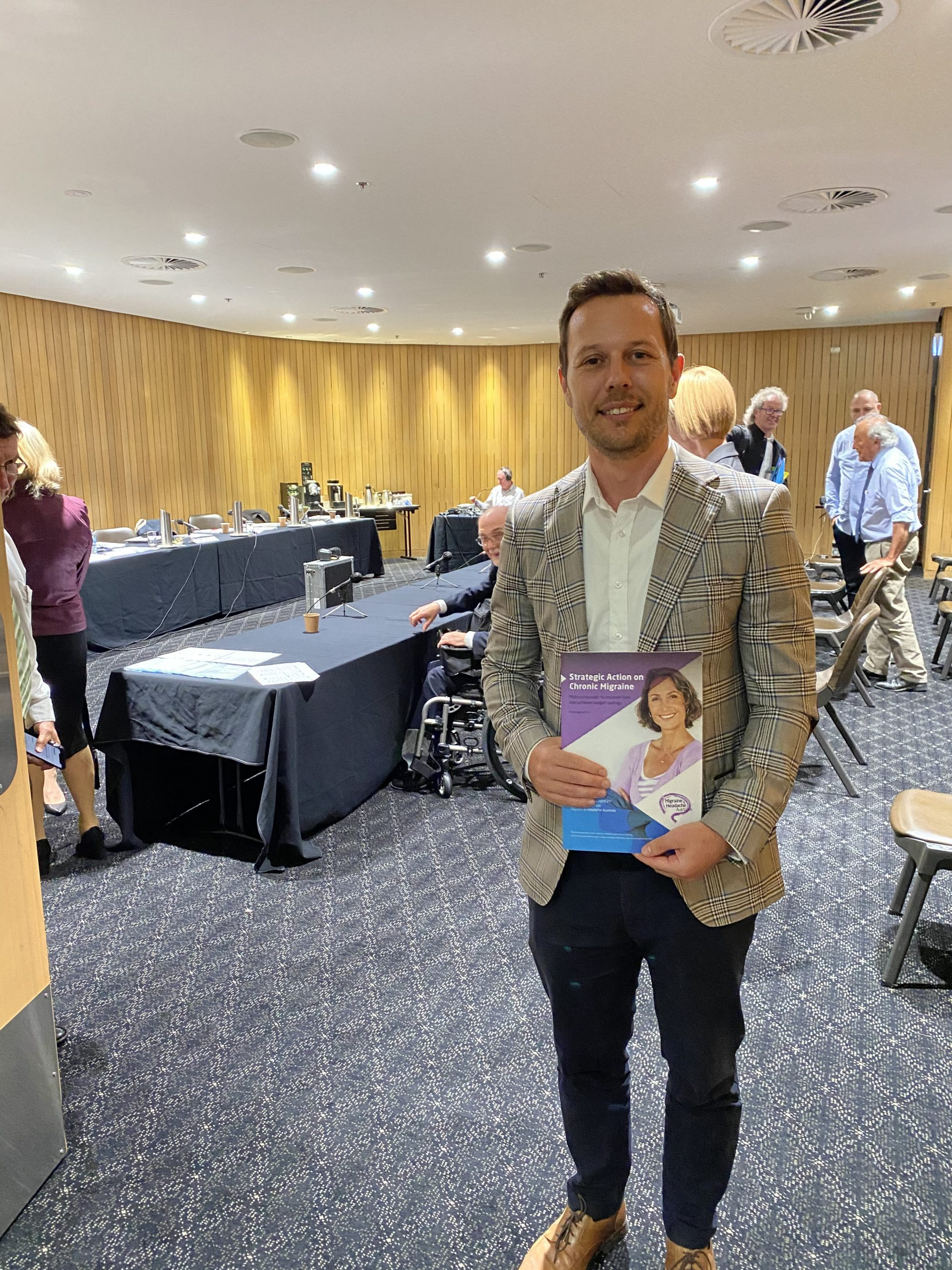 Carl at the Parliamentary Inquiry into PBS Approvals for New Drugs